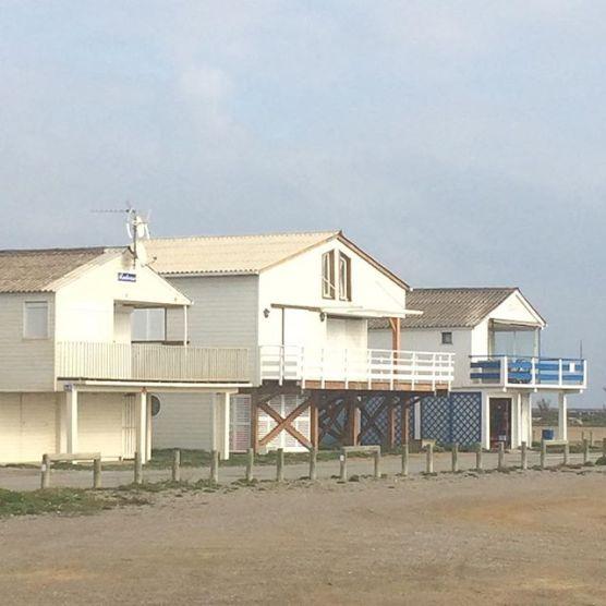 Maisons sur pilotis à Gruissan
