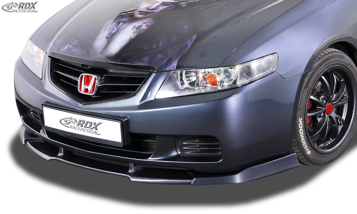 hight resolution of rdx front spoiler for vario x honda accord 7 2002 2006 sedan and tourer stationwagon front lip splitter