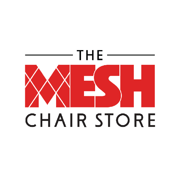 The Mesh Chair Store branding