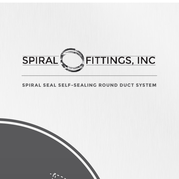 Spiral Fittings, Inc. logo on catalog cover