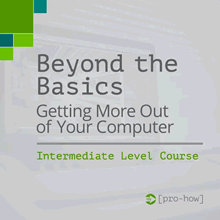 Course - Beyond The Basics