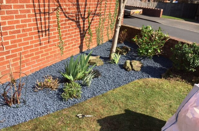 gardencare rubber chippings for