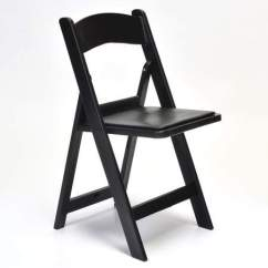 Wooden Folding Chairs For Rent Glass Table And Cream Black Chair Rental Rentals Resin