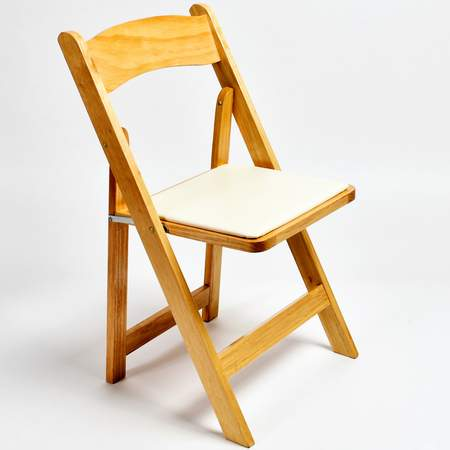 folding chairs for rent hanging indoor uk where to chair rentals natural wood