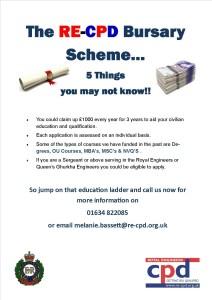 RE CPD Bursary Scheme – Check it Out!!
