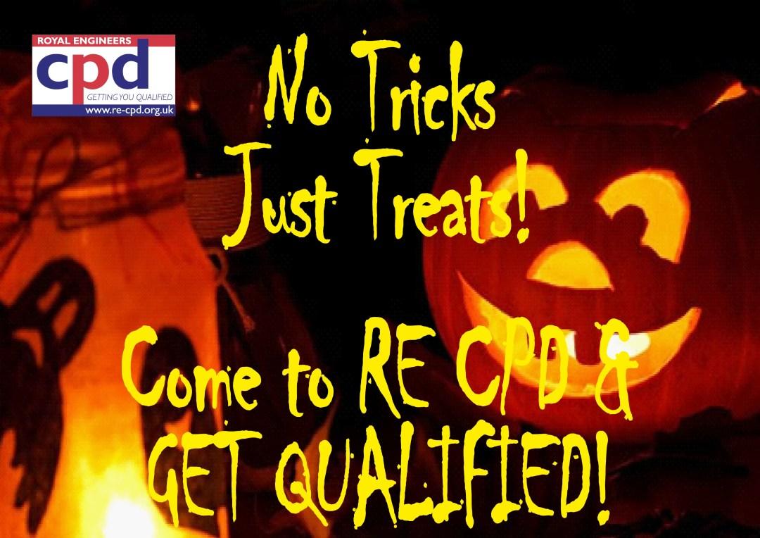 No tricks just treats