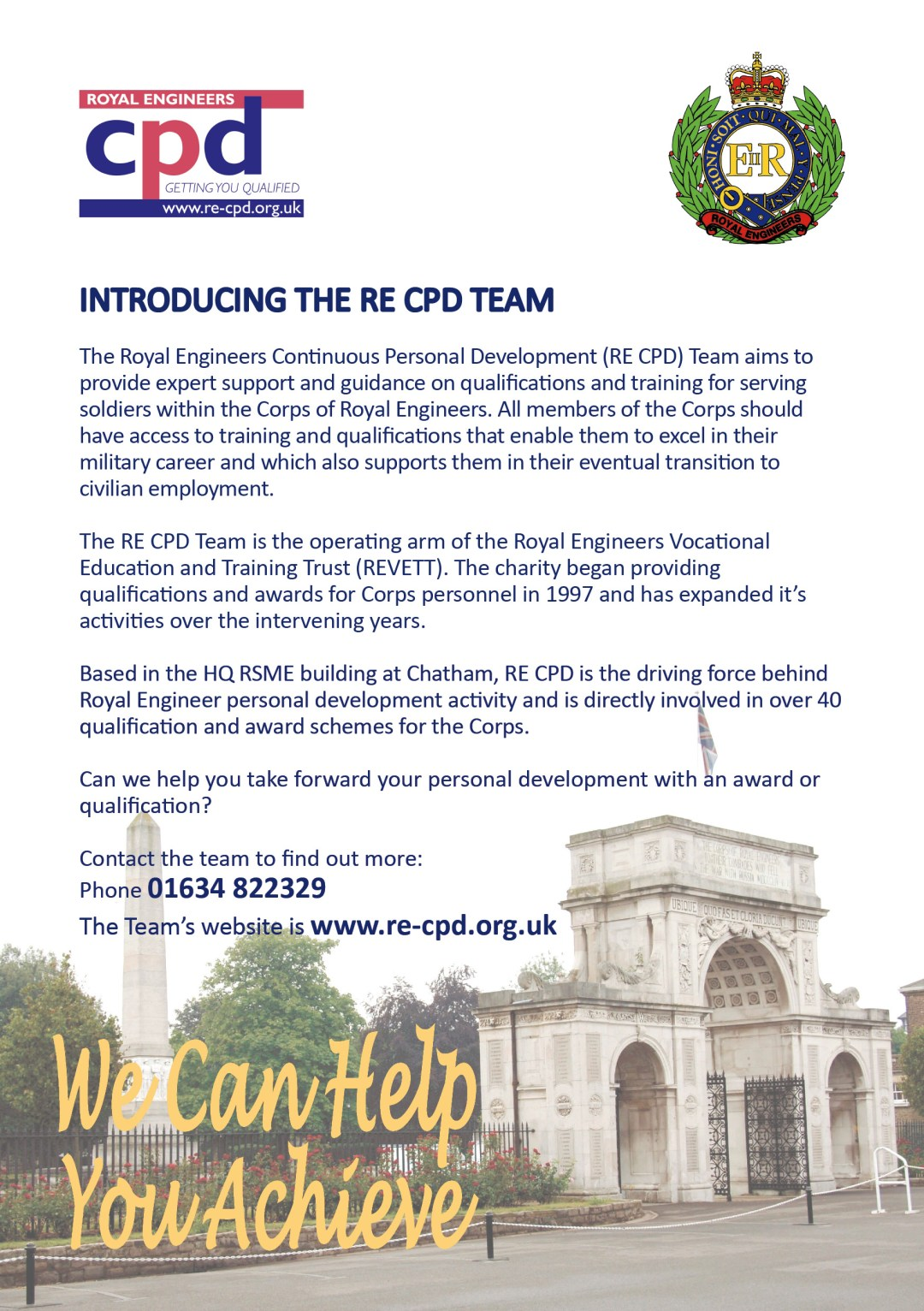 Introducing the RE CPD Team