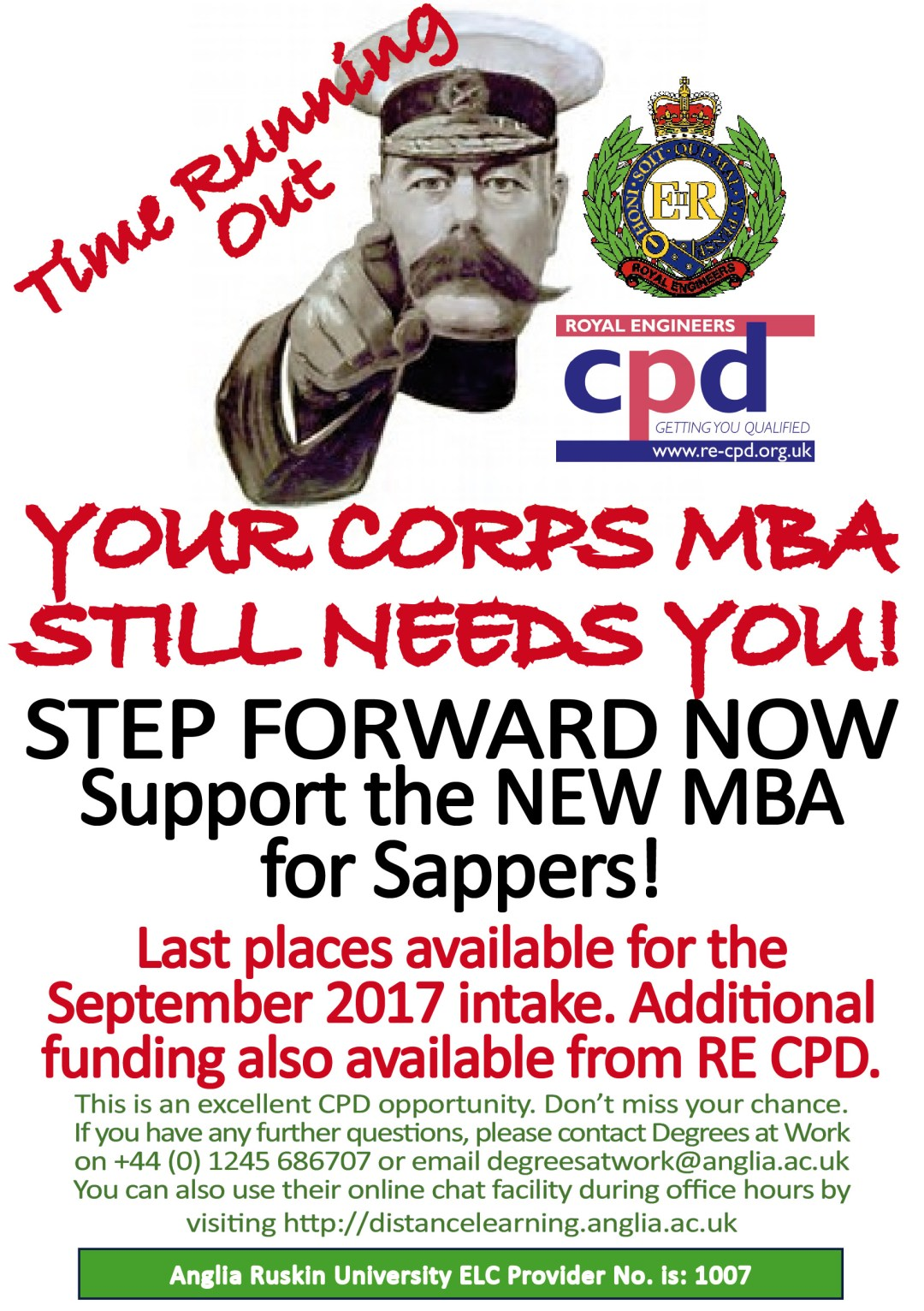 Your Corps MBA Still Needs YOU!