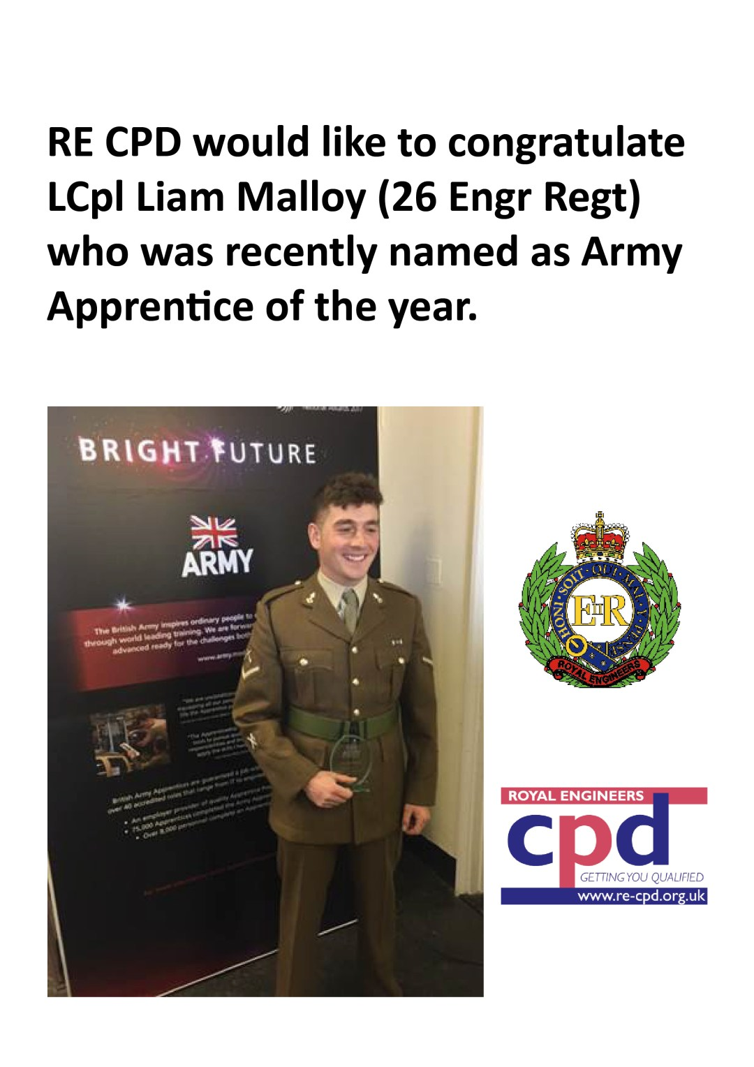 Army Apprentice of the Year