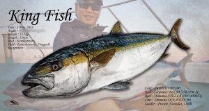 キングフィッシュ魚拓
