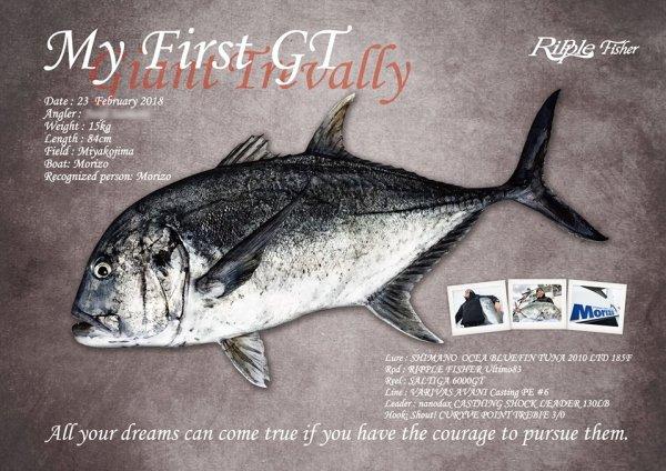 GTデジタル魚拓