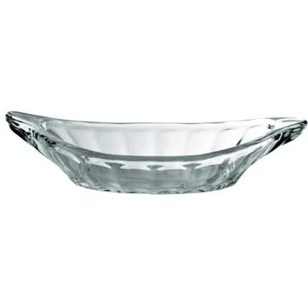 banana split glass dish
