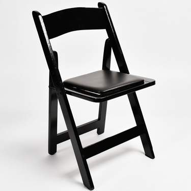 wooden folding chairs for rent how to tie a person chair seating and rentals any event marquee black wood