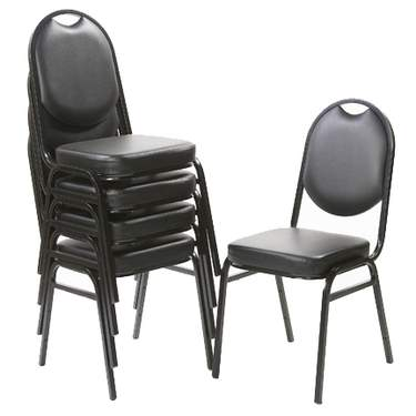 party chair rental steamer cushion covers seating and rentals for any event marquee black stacking padded