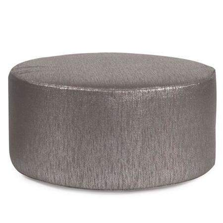 Ottoman Round Silver Rentals  Rental Furniture for Events  Marquee Event Rentals