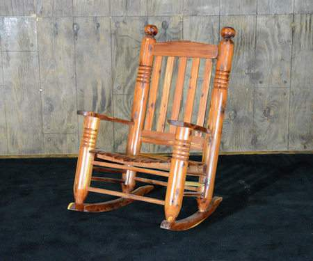 cedar rocking chairs overstuffed and ottomans post chair rental furniture for events marquee