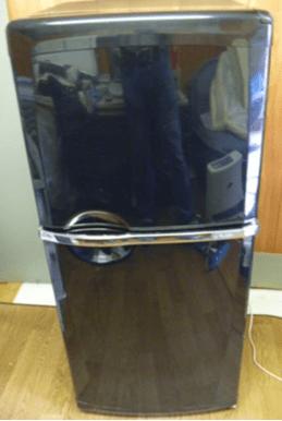 リサイクル2ドアの空冷式冷蔵庫