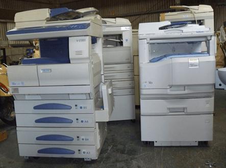 リサイクル・コピー機の回収