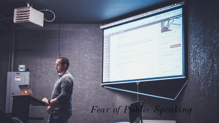 overcome from the fear of public speaking