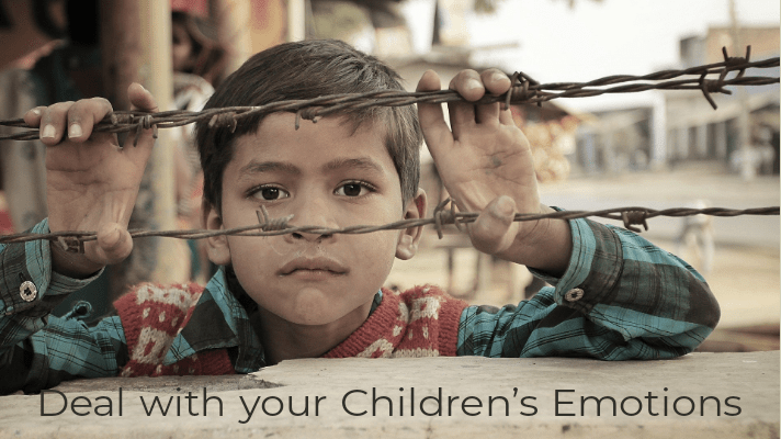 Deal with your Children Emotion