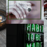 How 21 days Habit of Subconscious Mind can be Beneficial