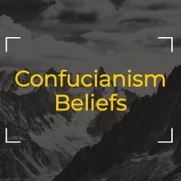 What is Confucianism Beliefs- Asian society