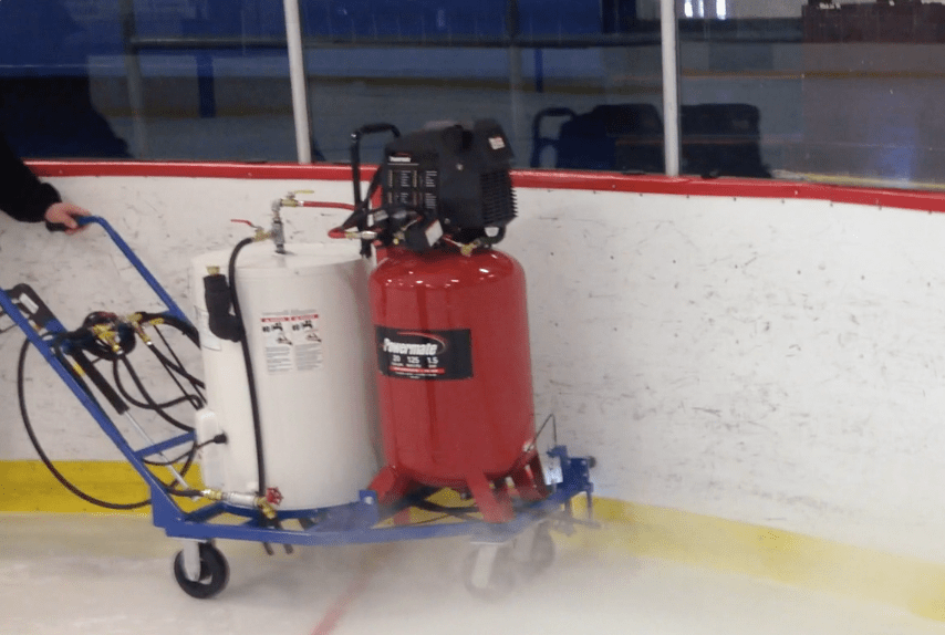 This De-Icer Eliminates Repetitive Motion Injuries from Scraping the Ice