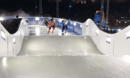 Building the Crashed Ice Track