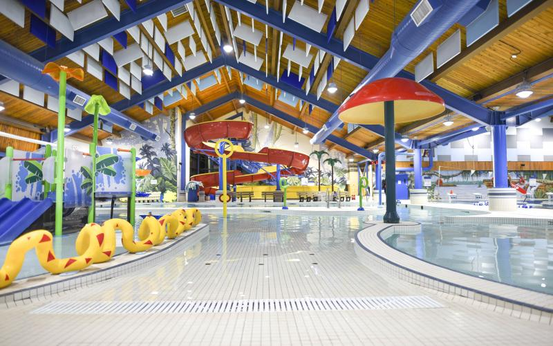 The Leduc Recreation Centre's Aquatic Centre