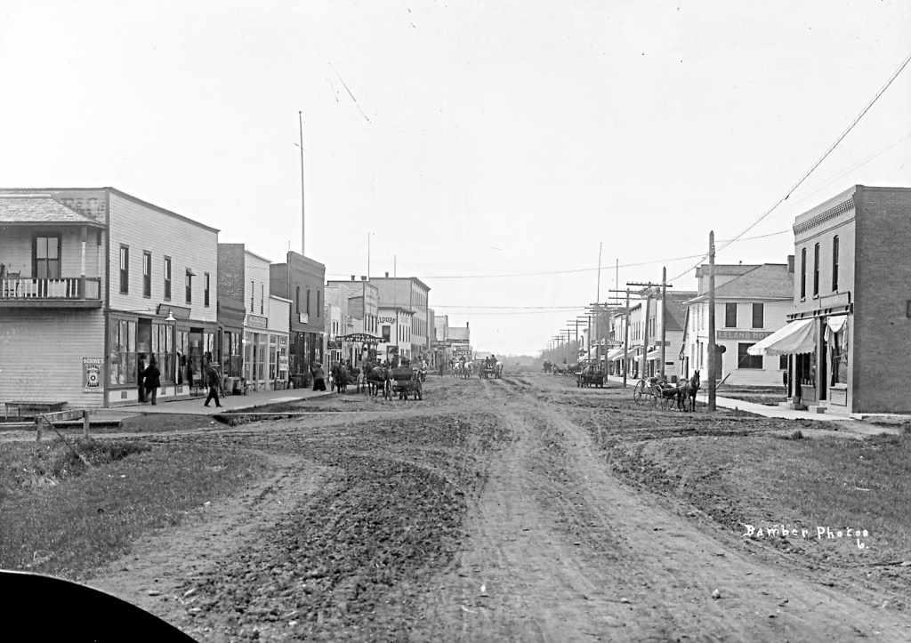 The year the Great War was declared, the main street in Leduc was a wide dirt path. The population was more than 500. (Harry Bamber photo)