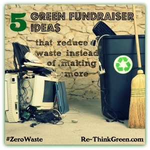 green fundraisers #ZeroWaste