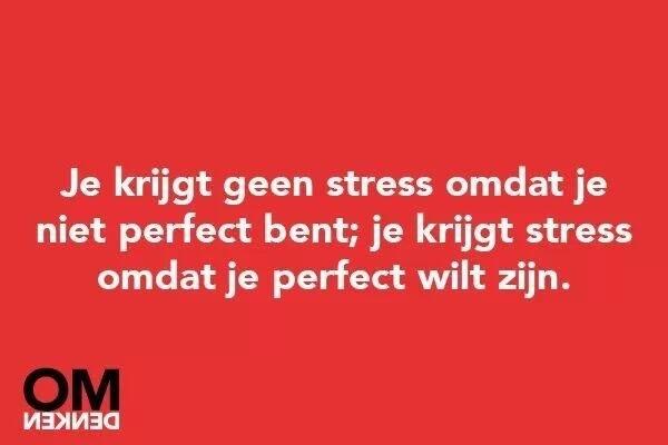 PERFECTIE.