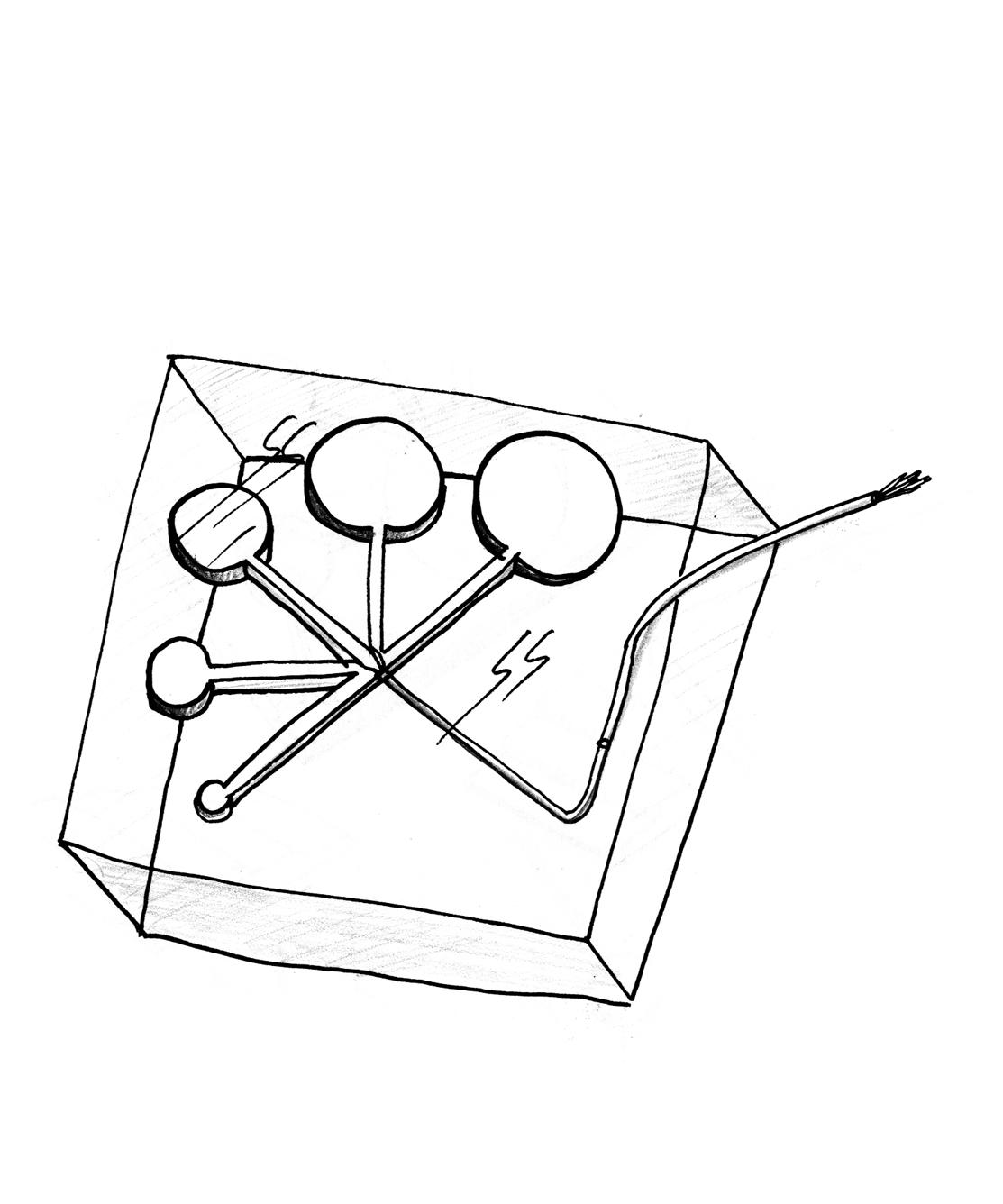 8_essai 5 : capteur en résine