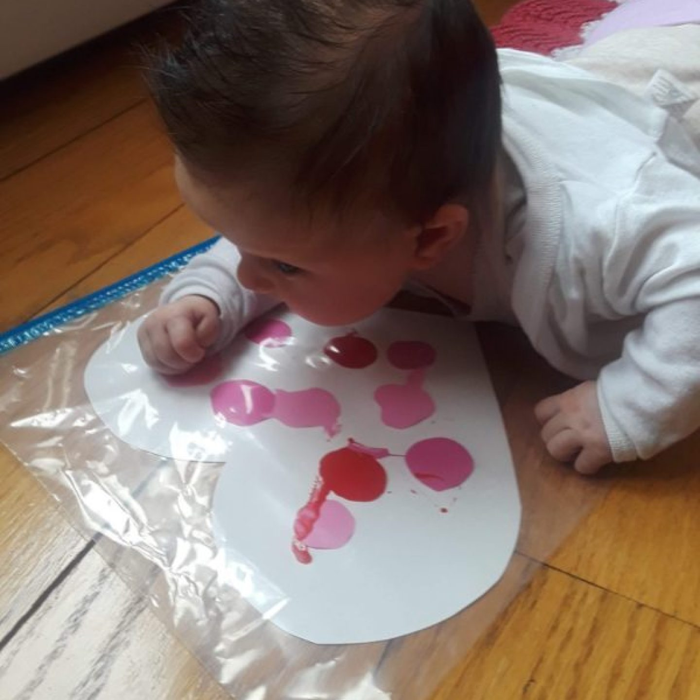 tummy time painting