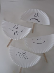 paper plate craft for learning emotions