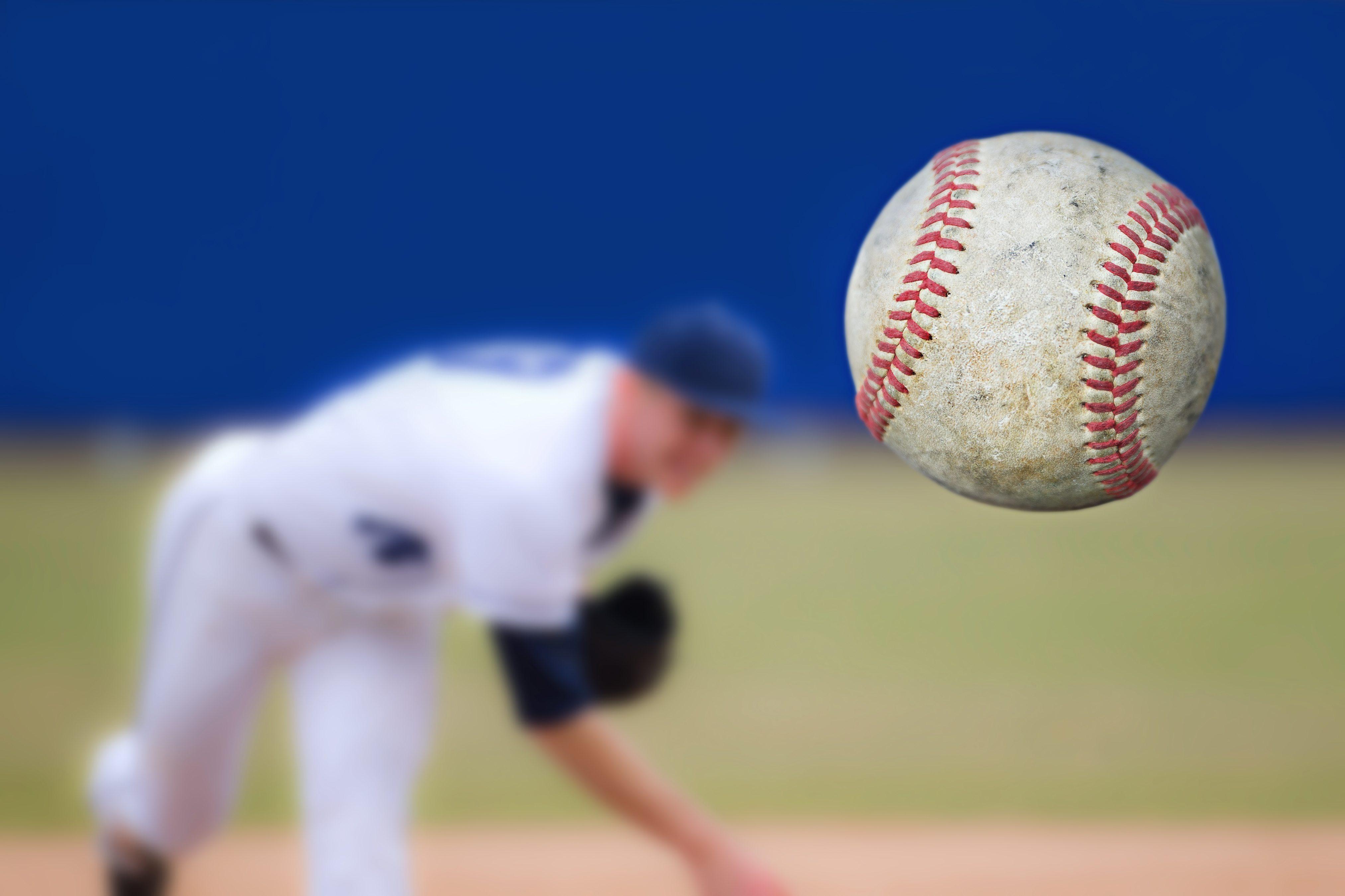 baseball, pitcher