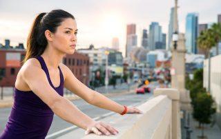 runner, female athlete