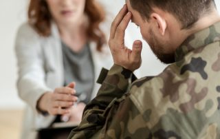 soldier in counseling