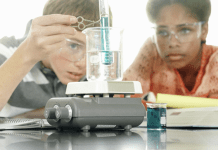high school class interest in stem and science