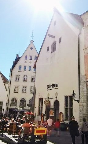 Olde Hansa, Old Town of Tallinn, Estonia