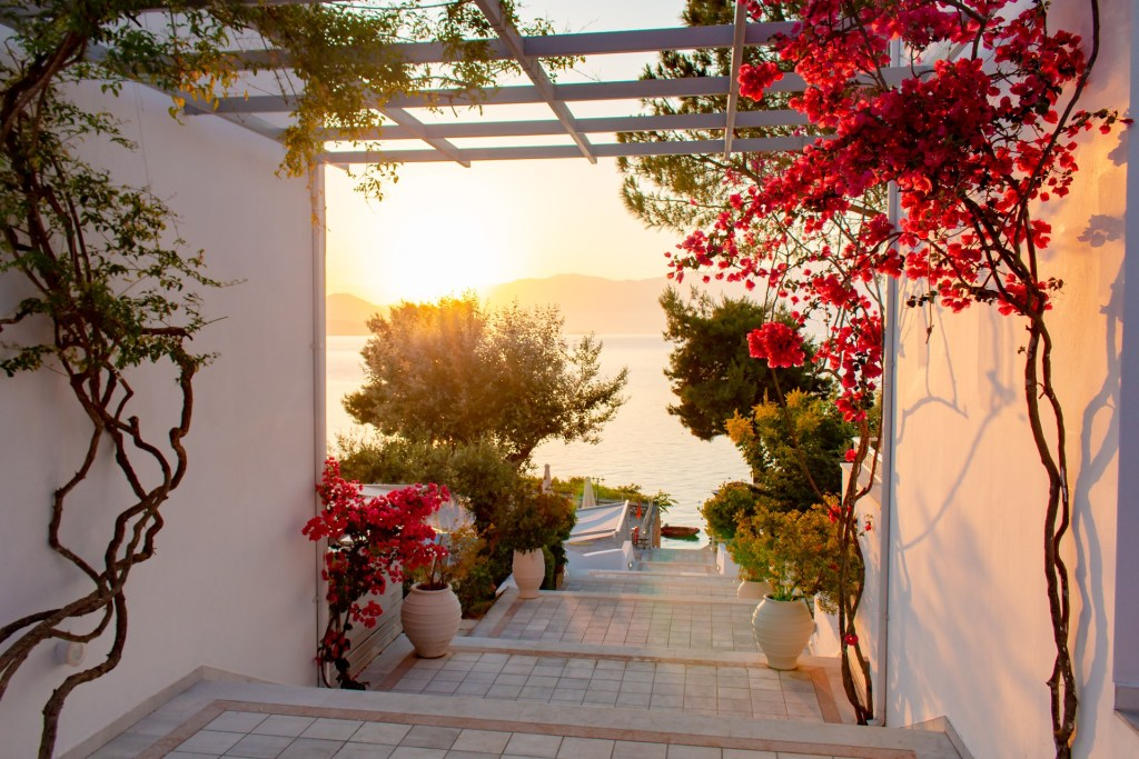 Porto Galini resort, Lefkada island, Greece