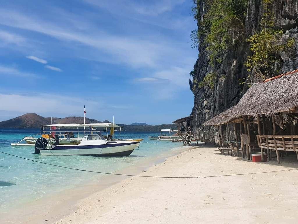 Banul beach in Coron, Philippines