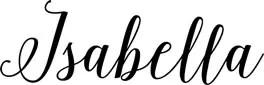 Isabella Signature