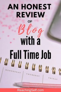 In this article, I share my honest review of Natalie Bacon's Blog With a Full Time Job course. Find out here if it's right for you.