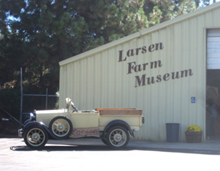 First stop: Larsen Farm Museum