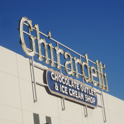 If you're good, we'll stop at Ghirardelli's on the way home