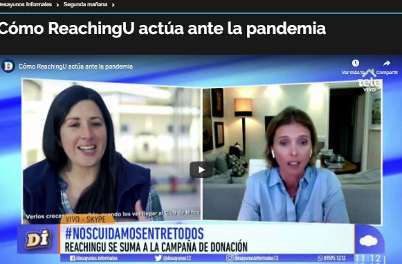 Teledoce: cómo actúa ReachingU frente a la pandemia