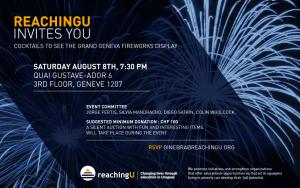 Invitación: ReachingU en Ginebra el 8 de agosto, 7:30pm