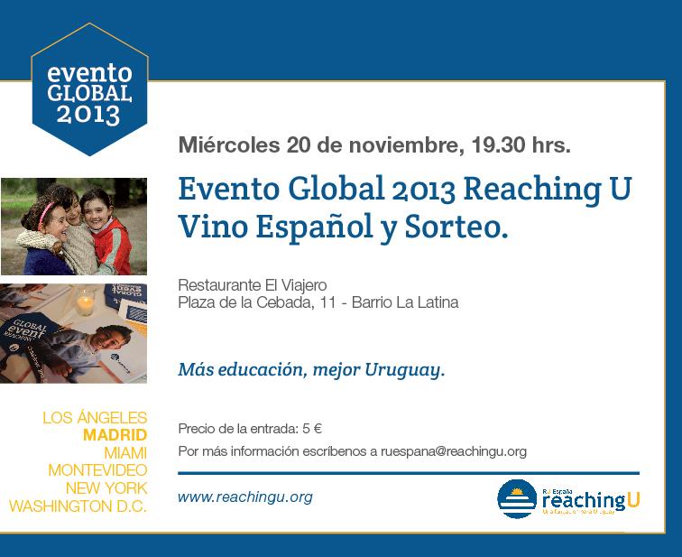 Último evento global 2013: Madrid
