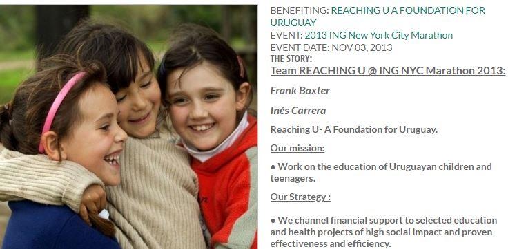 Equipo de ReachingU correrá la maratón de Nueva York para recaudar fondos